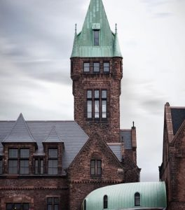 Richardson Olmstead Complex in Buffalo NY listed a National Register of Historic Places in 1973